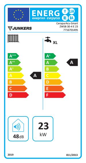Caldaia a condensazione junkers cerapur
